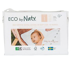 Еко пелени Nature Babycare NATY 2-5 кг Размер 1