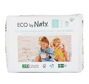 Еко пелени Nature Babycare NATY 4-9 кг Размер 3
